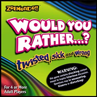 Would You Rather? Boardgame - The Twisted Sick and Wrong Version