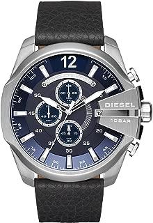 Diesel Men's Leather Band Watch