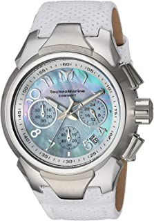 [テクノマリーン]TechnoMarine 腕時計 'Sea' Quartz Stainless Steel and Leather Casual Watch, TM-715031 レディース [並行輸入品]