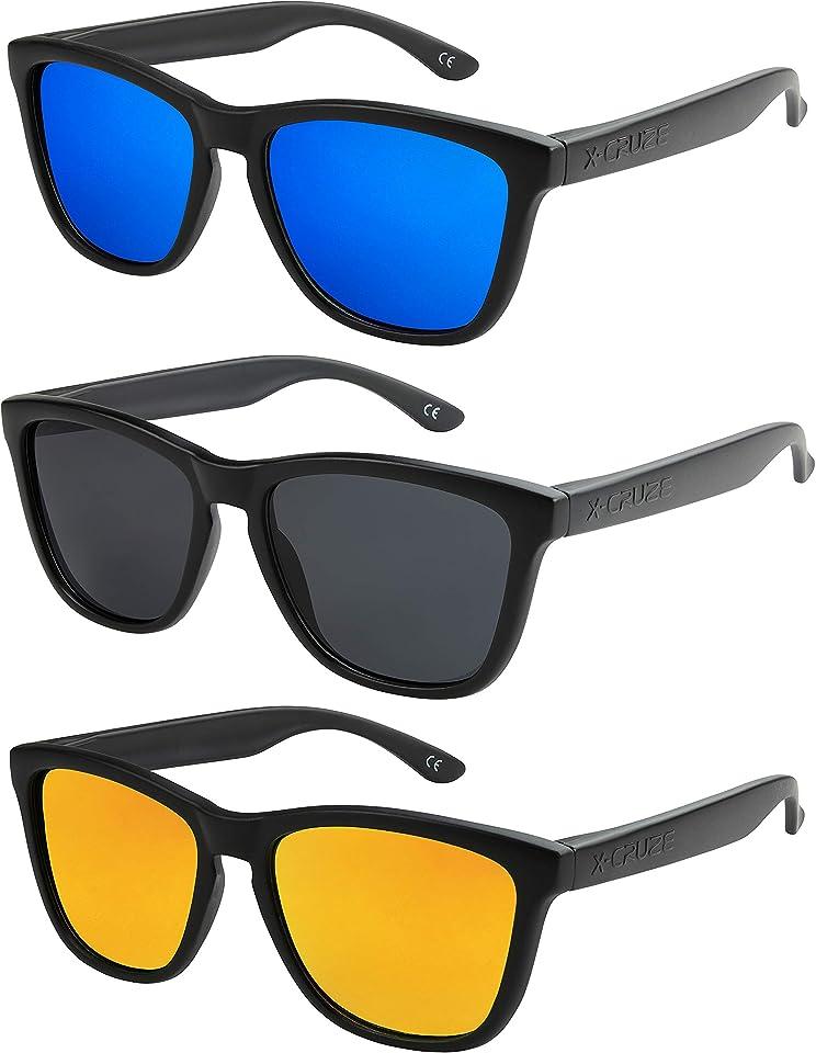 Nerd Sonnenbrille polarisiert Retro Vintage Unisex
