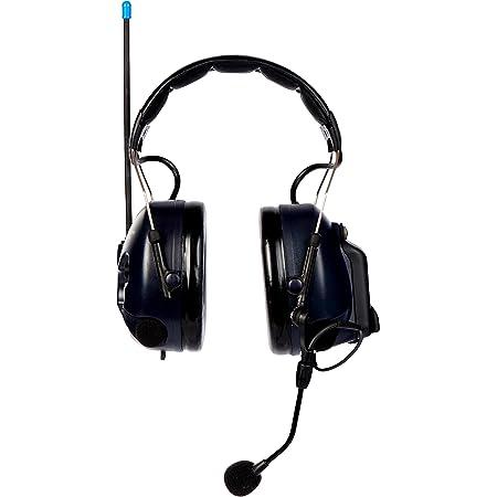 3M PELTOR Cuffie WS LiteCom PMR446 MHz, temporale, microfoni ambientali, radio integrata, bluetooth®, MT53H7A4410WS5