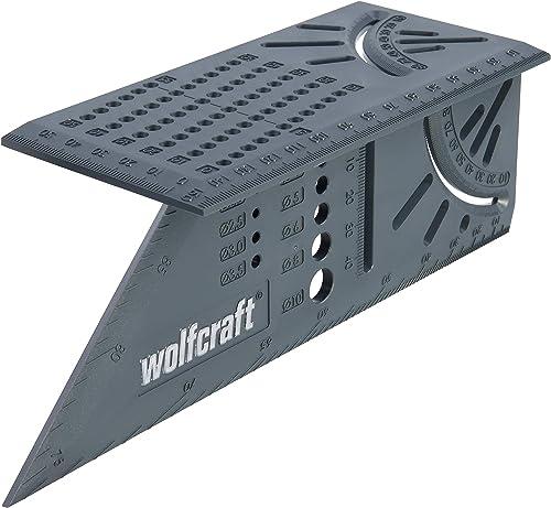 Wolfcraft 5208000- Escuadra (Regla) 3D