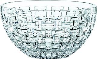 """Nachtmann Bossa Nova Set of 2 Glass Bowls, 7"""", Clear"""