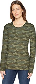 womens long sleeve camo shirt