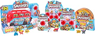 Zuru Smashers Limited Edition Smash Ball Bus Bundle With 8 Pack - 3 Pack & 1 Pack & Collector Tin