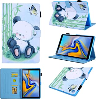 Galaxy Tab A 8.0 inch Case, T290 Case, Chgdss Full Body Protection Multi-Angle Viewing/Card Slots, forSamsung Galaxy Tab A 8.0 T290 T295 T297 2019 Release - Panda