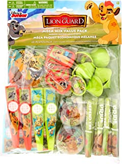 amscan Disney The Lion Guard Mega Mix Value Pack Favors, Party Favor