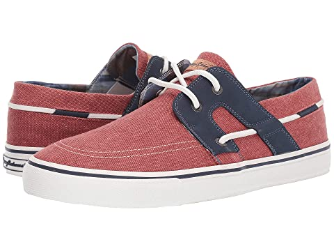 Tommy Bahama Shoes , DARK RED WASHED CANVAS