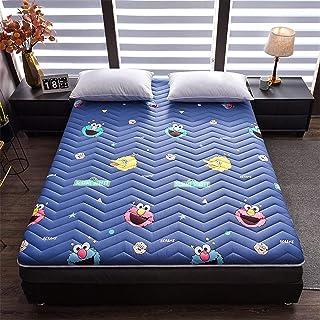 Colchón Tatami Grueso,Tejido Acolchado Compresión-Resistente Algodón Futón,Plegable Doble Non-colchón Slip Design,para Acampar Dorm Mat-Un 120x200x5cm(47x79x2inch)