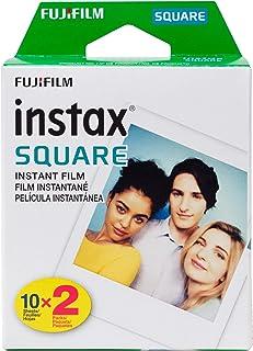 Fujifilm Instax Square - Película para Fujifilm Instax (2 unidades, 20 exposiciones)