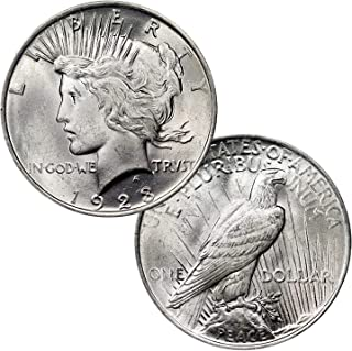 Silver Peace Dollar $1 BU