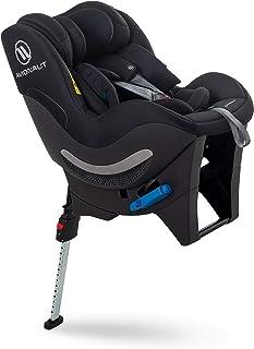 Silla de seguridad infantil Avionaut Sky RWF | silla de coche reboard (orientada hacia atrás) | silla de coche grupo 0+/1/2 (0-25kg, 40cm-125cm) | para bebés y niños de 0 a 7 años | Berlin Negro