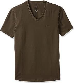 Armani Exchange Men's 8NZT85 T-Shirt, Green (Military Green 1840), Small