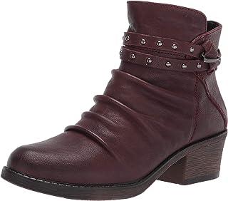 Propet Women's Roxie Ankle Boot, Burgundy, 10 Narrow
