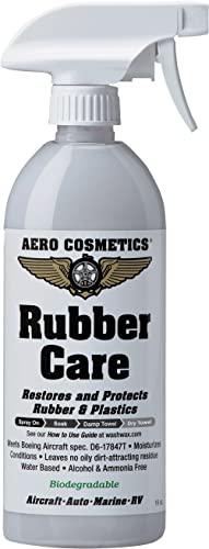 Aero Cosmetics Tire Dressing, Tire Protectant, No Tire Shine, No Dirt Attracting Residue, Natural Satin/Matte Finish,...