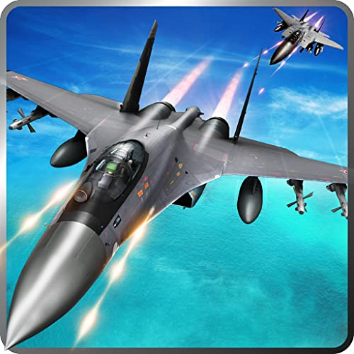 Air Jet Fighter Adventure Simulator 3D: Air Attack Pilot Strike Sky Combat Flight Simulator Warplanes of World War Army Survival Hero Avion Force Games Free For Kids 2018