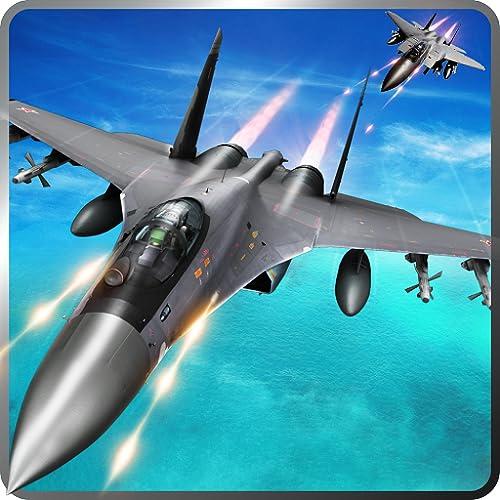 Air Jet Fighter Adventure Simulator 3D: Air Attack Pilot Strike Sky Combat Flight Simulator Warplanes of World War Army Survival Hero Avion Force Games Free For Kids 2018