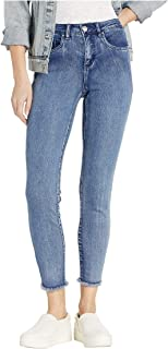 Women's Olivia Ankle Jean with Frayed Hem
