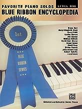 Blue Ribbon Encyclopedia Favorite Piano Solos: Level 1