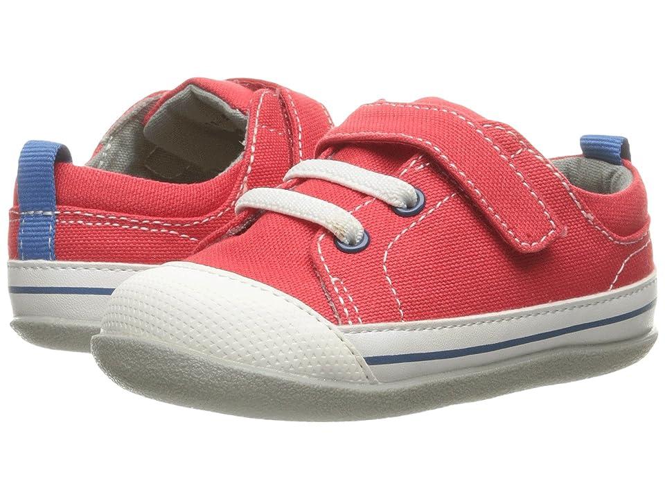 See Kai Run Kids Stevie II (Infant/Toddler) (Red Canvas) Boy