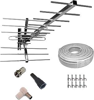 Amazon.es: Unispectra - Antenas de TV / Antenas: Electrónica