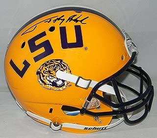 Tyrann Mathieu Autographed Lsu Tigers Full Size Helmet W/Honey Badger - JSA Certified - Autographed College Helmets