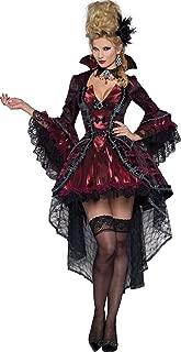 Costumes Women's Victorian Vamp Vampiress Costume, Burgundy, Large