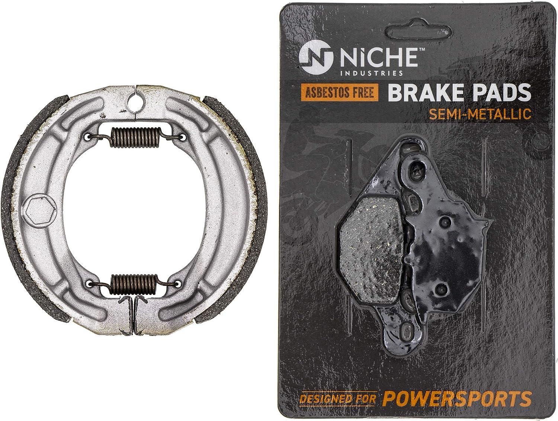 NICHE 5☆好評 Brake Pad with Shoe 最安値に挑戦 Set for DRZ125 59301-20870 5440 Suzuki