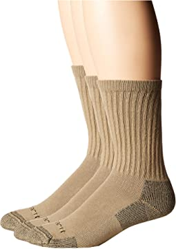 Cotton Crew Work Socks 3-Pack