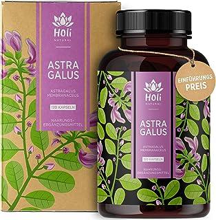 Holi Natural Astragalus Extrakt 10:1 | 30% Polysaccharide | 120 vegane Kapseln | 2000mg je Tagesdosis | 10% Saponine | ECHTER Tragant Hochdosiert & Laborgeprüft