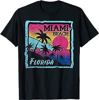 Florida Miami South Ocean Beach Palm Vacation Vacay Shirt  T-Shirt