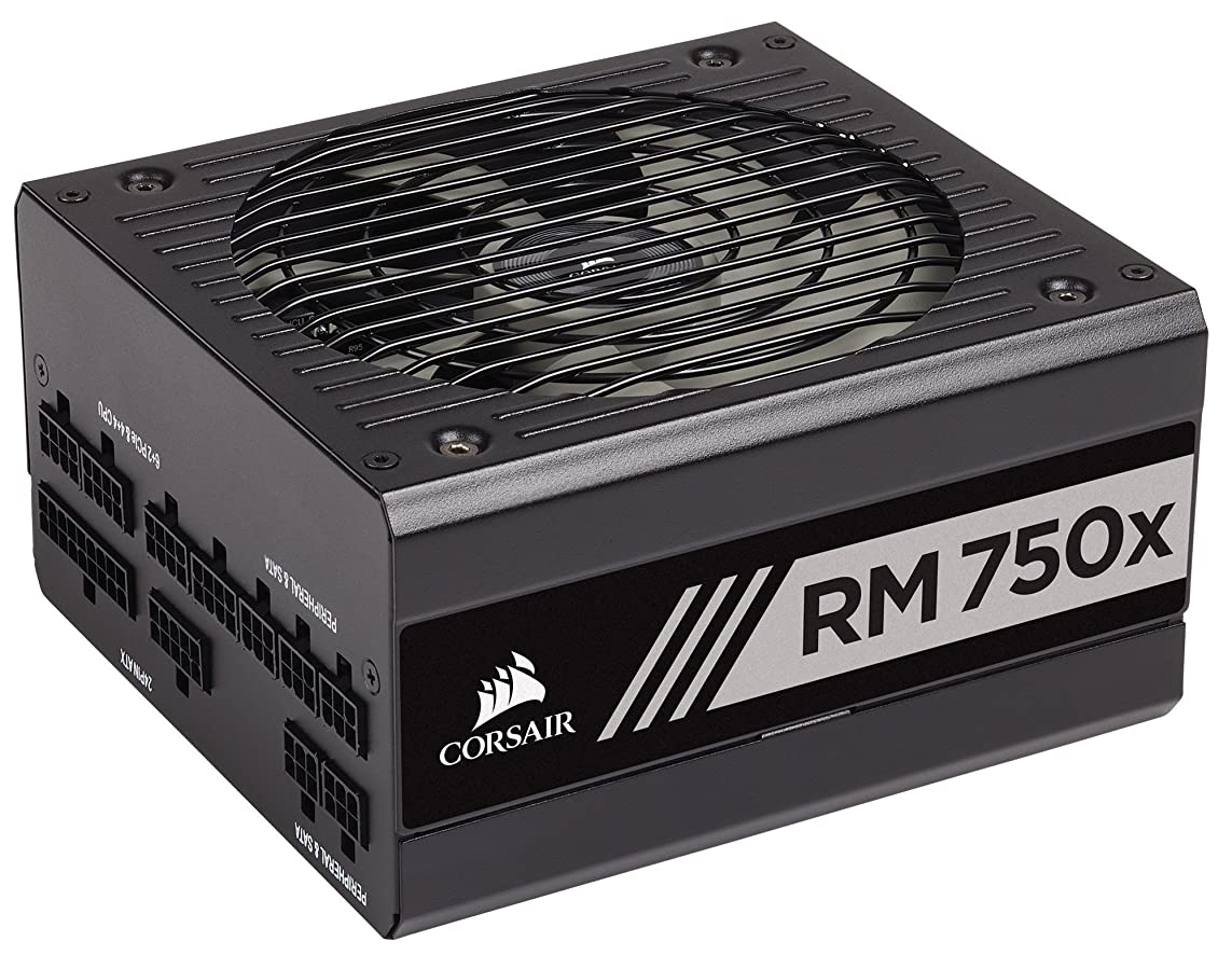 抜け目がない一生流Corsair RM750x -2018-750W PC電源ユニット[80PLUS GOLD] PS794 CP-9020179-JP