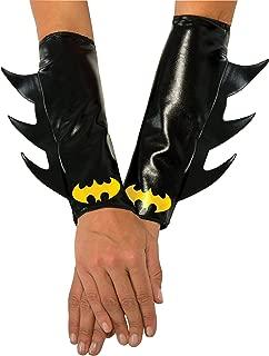 Rubie's Women's DC Superheroes Batgirl Gauntlets, Multi, One Size