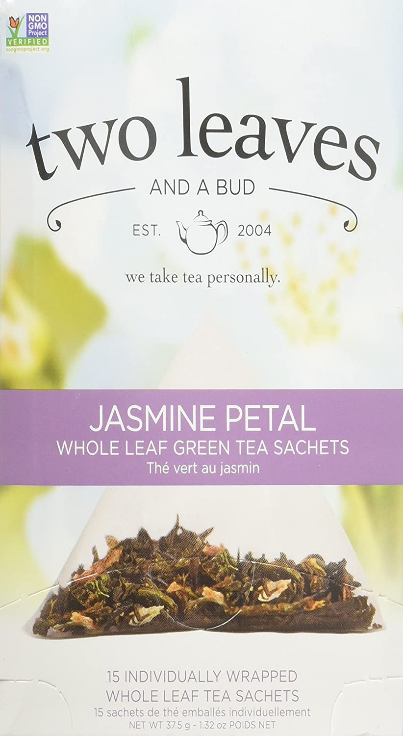 Year-end gift Two Leaves A Bud Tea Petal Jasmine Outstanding