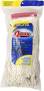 Quickie All Purpose Cotton Wet Mop Refill (Pack of 3)