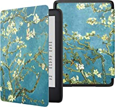 MoKo Case Fits All-NewKindle(10thGeneration-2019ReleaseOnly), Lightweight Premium Shell Cover with Auto Wake/Sleep, WillNotFitKindlePaperwhite10thGeneration2018 - Almond Blossom