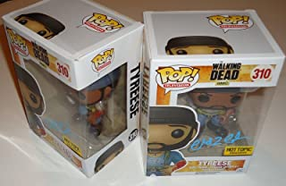 Chad L Coleman signed The Walking Dead Funko pop w/coa Proof Tyreese #310