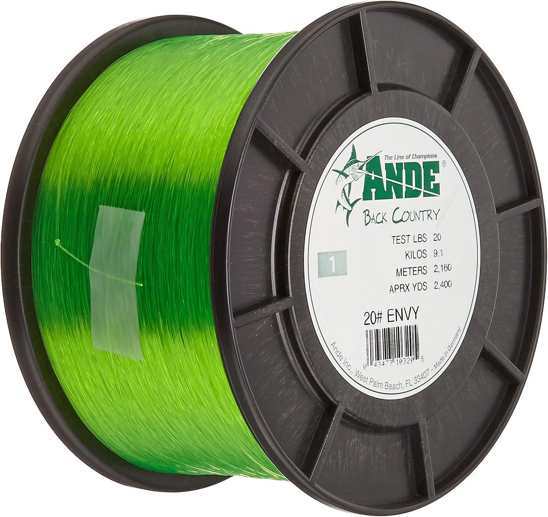 Bargain ANDE A1-20GE Premium Monofilament 20-Pound Test Spool 1-Pound 5 popular