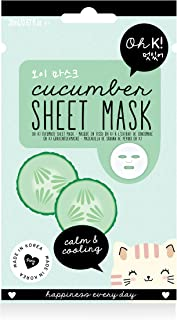 Oh K! Facial Sheet Mask, Cucumber