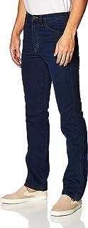 Wrangler Jeans Tipo Vaquero para Hombre, Corte Slim Fit, Color Azul