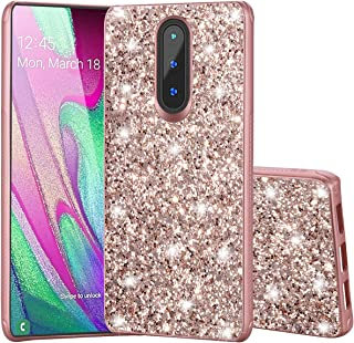 ZeKing Coolpad Legacy 3705A Case, 3D Cute Bling Glitter Quicksand Diamond Flexible TPU Protective Case Cover for Coolpad Legacy 3705A (Rose Gold)