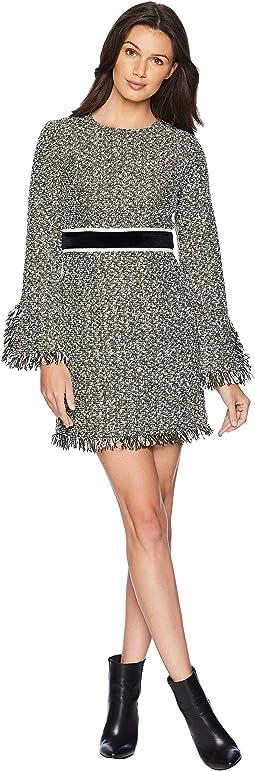 Hard Woven Hudson Tweed Shift Dress