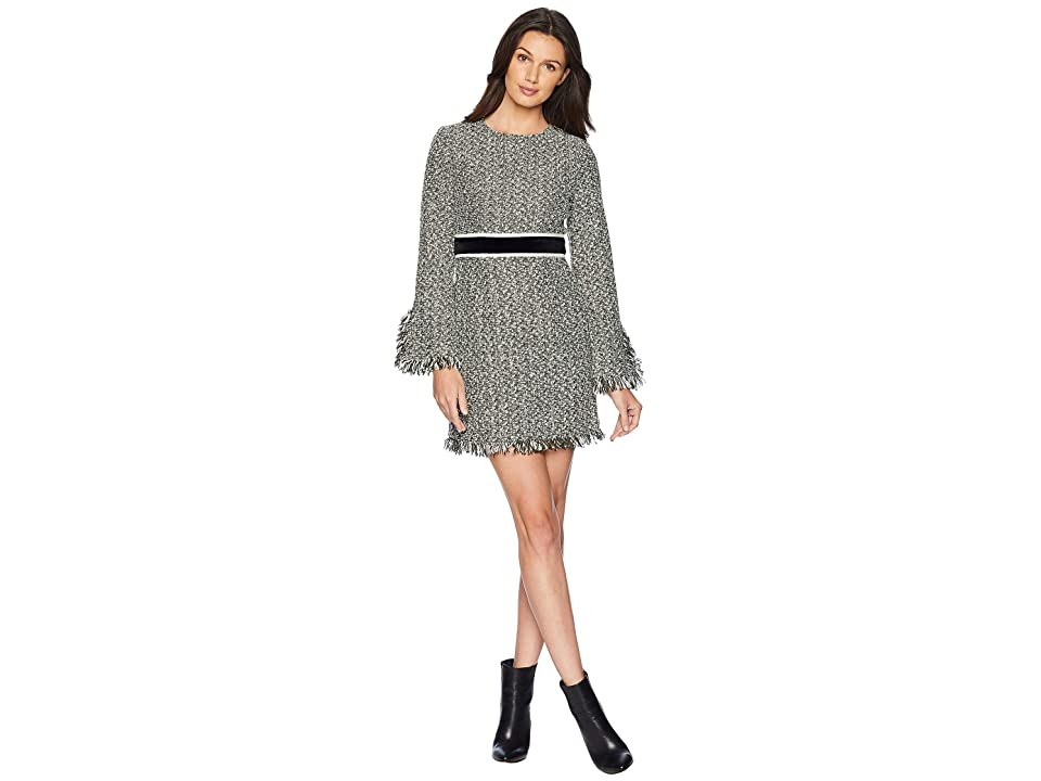 Juicy Couture Hard Woven Hudson Tweed Shift Dress (Lost Labrynth Angel Hudson Tweed) Women
