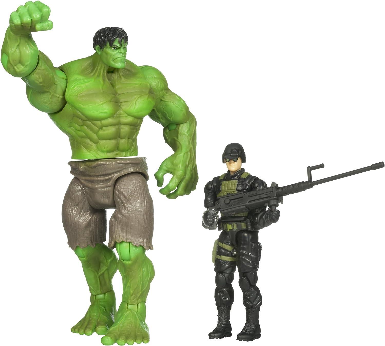 Hulk Deluxe Figure  Power Kick Hulk