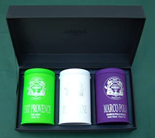 Mariage Frères - CHEFS D'OEUVRE - 3 Teas gift set - EACH: 3.52oz / 100gr canister / tin