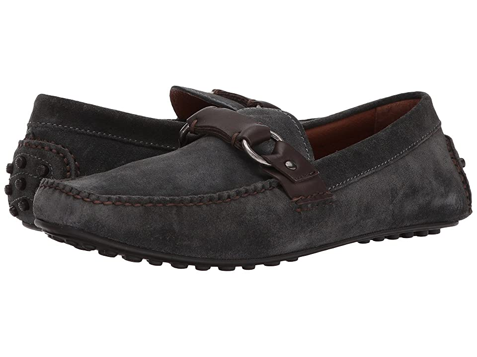 Frye Allen Ring Keeper (Charcoal Soft Oiled Suede) Men