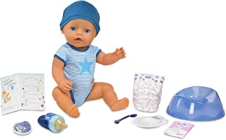 Baby Born Interactive Boy Doll, Blue