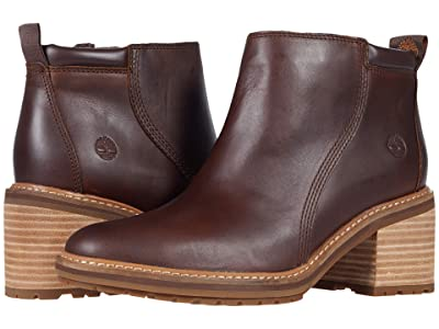 Timberland Sienna High Ankle Boot (Rust Full Grain) Women