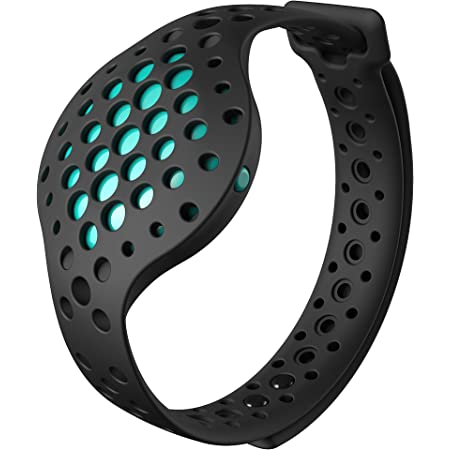 3D Fitness Tracker and Real Time Audio Coach, Moov Now: (NO STEP TRACKING) Swimming Running Water Resistant Activity with Sleep Monitor, Bluetooth for Android and iOS, Aqua Blue