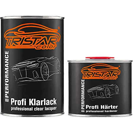 Tristarcolor 1 5 Liter 2k Klarlack Autolack Hochglänzend Hs Incl Härter Auto